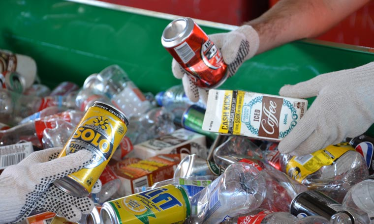bottle, can & scrap recycling services Adelaide