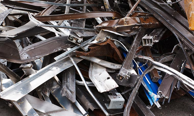 Scrap Metal Recycling at Pooraka Recycling Centre Adelaide
