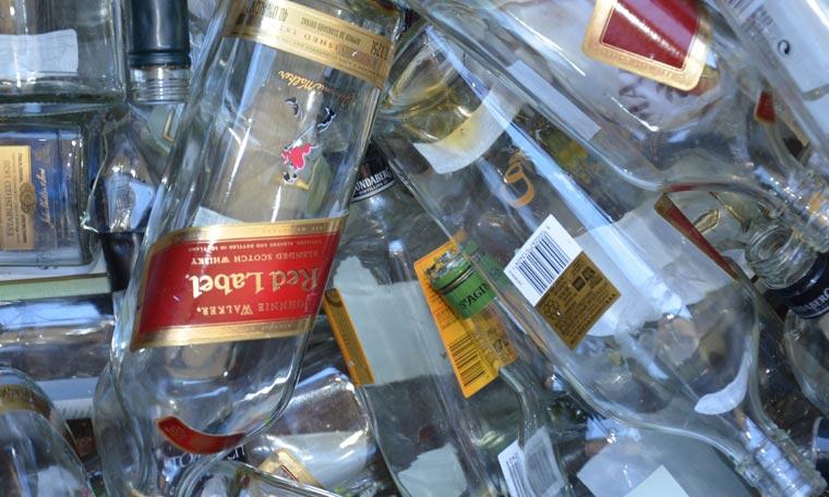 Glass Spirit Bottles | Bottle Recycling Adelaide